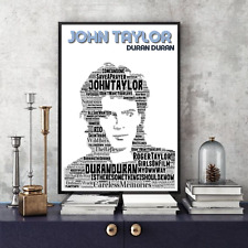 More details for john taylor duran duran songs portrait keepsake/collectable/gift
