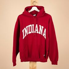 Vintage INDIANA UNIVERSITY RUSSELL ATHLETIC Hoodie Size Womens Medium M