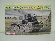 Dragon 6434, Pz.Kpfw.38(T) Ausf.E/F,1:35