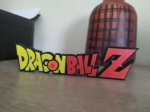 logo dragon ball z à exposer collection manga dragonball display