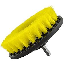 Brushes Acc201Brushmd Medium Duty Carpet Brush With Drill Attachment, Yellow