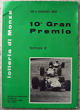 ITALIAN GRAND PRIX FORMULA 2 MONZA 23 June 1968 Official Programme