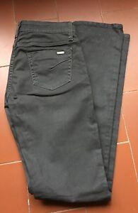 Jean Gretta Acquaverde coton enduit, taille 30 - Etat neuf