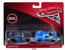 Disney Pixar Cars 3 Jackson Storm Danny Swervez 2 Pack Diecast Mattel 1:55 Scale