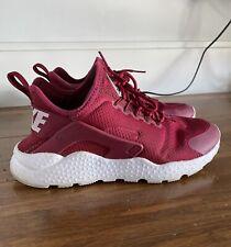 Nike Air Huarache Run Ultra Red Maroone Sneakers US7 EUR38 Women's
