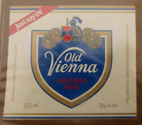 VINTAGE CANADIAN BEER LABEL - CARLING O'KEEFE BREWERY, OLD VIENNA LAGER 625ML