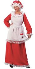 Mrs. Santa Claus Christmas Costume Fancy Dress Adult Red Ladies Women One Size