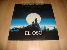 EL OSO LP DE VINILO VINYL M. DE PHILIPPE SARDE BANDA SONORA ORIGINAL SOUNDTRACK