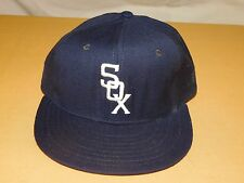 VINTAGE MLB BASEBALL HAT CAP CHICAGO WHITE SOX NEW ERA PRO MODEL WOOL  NEW NOS