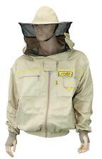 LYSON Imkerjacke mit abnehmbarem Hut belüftet-Imkerbluse/Imkerbekleidung PREMIUM
