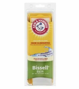 Bissell 8 & 14 Arm & Hammer Odor Eliminating Vacuum Filters  62648F