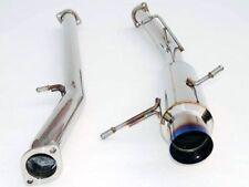 2000-2005 Mitsubishi Eclipse V6 Invidia N1 Cat-Back Exhaust Muffler Titanium Tip