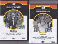2 Dvd Sceneggiati Rai «MELISSA» con E.Ruspoli R.Brazzi Turi Ferro completa 1966