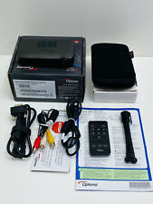 Optoma PK320 Pico DLP Mini Pocket Projector HDMI VGA Remote Bundle Tripod