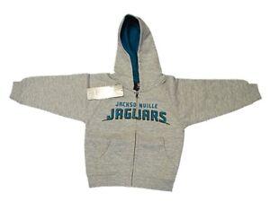 New NFL Jacksonville Jaguars Hoody Sweatshirt Toddler 2T 4T Hoodie Zipper Boys