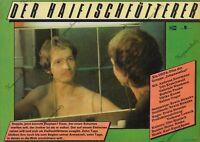 "DDR Progress Filmplakat A3 Der Haifischfütterer 1985 ""ungeknickt"" DEFA"