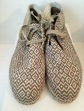 Deadstock OVADIA & SONS Chukka Espadrilles....(Beach, Summer, Leisure Wear, VTG)