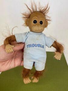 Ashton Drake - Trouble - Baby Monkey / Orangutang Small Soft Body Doll