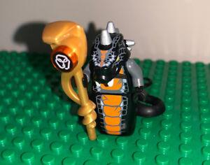 Lego Ninjago Skalidor Minifigure Snake Serpentine 9450 authentic