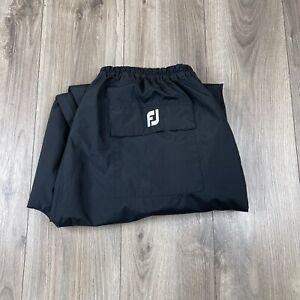 DryJoys By Footjoy Golf HydroLite Rain Pants Black Size XXL 2XL NWOT