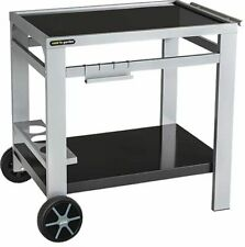 More details for cook'in garden media m barbecue/grill trolley, black/silver uk seller