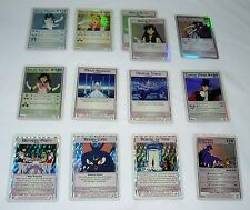 SET of 13 SAILOR MOON TRADING CARDS GAME STRATEGY MERCURY JUPITER PLUTO VENUS