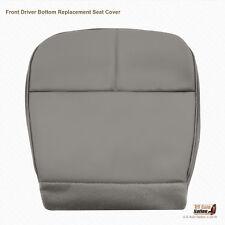 1998 1999 Ford E150 E250 Econoline Van Driver Bottom Vinyl Seat Cover Med Gray