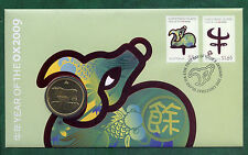 """2009 $1 PNC: Lunar Series - """"Year of the Ox"""