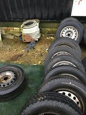 wheel rim tyre 16 vauxhall vivaro renault trafic traffic 01to14 steel van spare