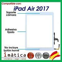 PANTALLA TACTIL IPAD AIR 2017 DIGITALIZADOR BLANCA 5 A1822 A1823 BLANCO CRISTAL