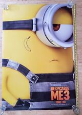 DESPICABLE ME 3 AUTHENTIC NEW ORIGINAL 2017 DS  theater Movie Poster 27x40