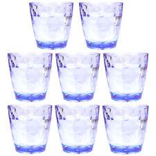 8-Piece 10 Oz Unbreakable Drinking Glasses Kids Safe Bpa Free Acrylic Tumblers