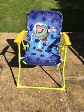 Toy Story children's folding garden chair with safety catch
