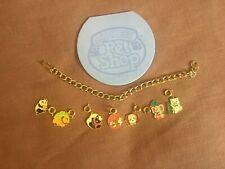 Littlest Pet Shop Charm Bracelet w/ Seven Charms, Notepad LPS Vintage Mail Order