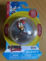SONIC THE HEDGEHOG 2 INCH MIGHTY SPHERE ACTION FIGURE WAVE 1 JAKKS SPIN RACE