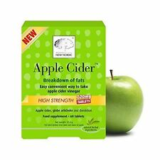 New Nordic Apple Cider High Strength 720mg 60 Tablets (Pack of 3)