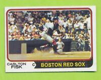 1974 Topps - Carlton Fisk (#105)  Boston Red Sox