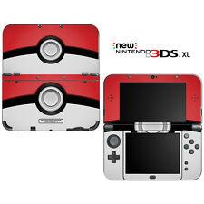 Pokemon Pokeball for New Nintendo 3DS XL Skin Decal Cover