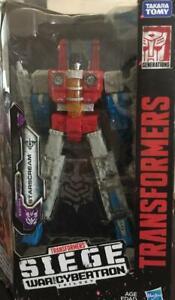 Transformers Generations War for Cybertron Voyager Starscream Siege