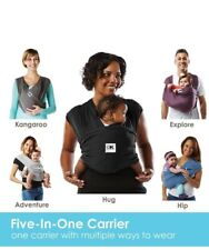 Baby K'tan Original wrap Carrier, Birth up to 35 lbs Gray Small S. Made in 2020