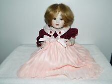 "17"" German JDK Kestner Hilda Jointed All Bisque Baby Doll Reproduction"
