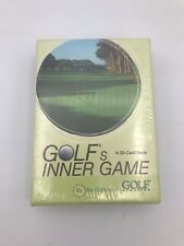 Golf's Inner Game 50 Cards Golf Mag Tips Insights Better Score All Levels Sealed