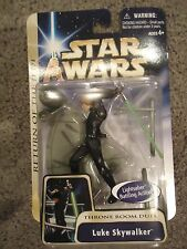 2004 Star Wars Saga Collection Return of the Jedi Luke Skywalker Throne Room