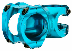 """RaceFace Turbine R 35 Stem - 50mm, 35mm Clamp, *+/-0, 1 1/8"""", Turquoise"""