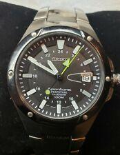 Men's  Seiko  Sportura 8F56-0120  A4 Watch