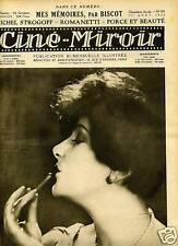 CINE MIROIR N°103 1926.LIL DAGOVER.HENRI BAUDIN