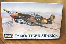 REVELL P-40B TIGER SHARK 1/48 SCALE AIRCRAFT MODEL KIT