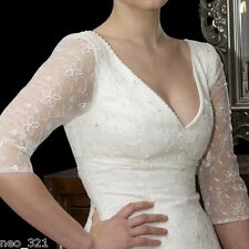 Cutting Edge Brides Chic Ella Tea Length Vintage Style Wedding Dress + Sleeves