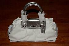 NWT Coach $498 Ashley Large Leather Satchel Handbag F15447 White