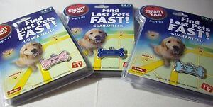 SMART TAG PET ID Small Enamel Tag *Your Choice Design*